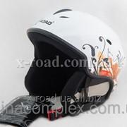 Шлем X-Road 670 white+cp фото