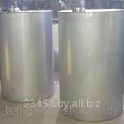 Бак для воды из нержавеющей стали под заказ из пищевой или технической сталей фото