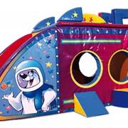 Домик (Домик-Звездолет), детские мягкие модули фото