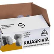 Камни для печей-каменок каробка 20 кг фото