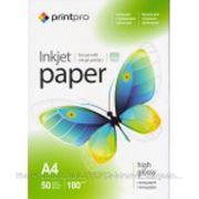 PrintPro Бумага PrintPro A4 глянцевая 230г/м 50л A4 PG230-50 фото