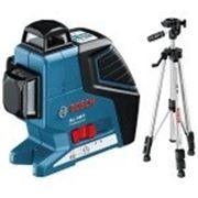 Линейный лазерный нивелир Bosch GLL 3-80 P + BS 150 фото