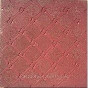 Формы для тротуарной плитки «Орнамент №4» глянцевые пластиковые АБС ABS фото
