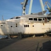 Покраска,шпаклевка,грунтовка,ремонт моторных яхт,катеров-internacional фото