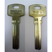 Заготовка для ключей вертикальная 00564 BAODEAN BAO-3D 3 паза фото
