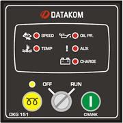 DATAKOM DKG-151 Контроллер ручного управления генератором фото