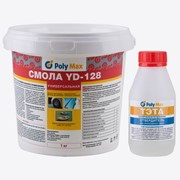 Эпоксидная смола YD-128 (1 кг) с отвердителем ТЭТА (100 гр) фото
