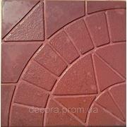 Формы для тротуарной плитки «Солнце » глянцевые пластиковые АБС ABS фото