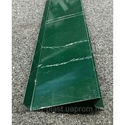 Отливы зеленые RAL 6005 100 мм фото