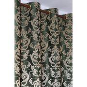 Шторы на люверсах из портьерной ткани фото