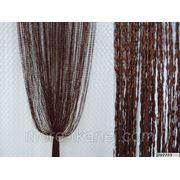 Декоративные ниточные шторы фото