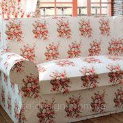 Ткань с цветочным принтом фото