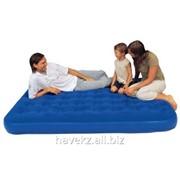 Двухспальный надувной матрас Bestway 67003 - 203 Х152 Х 23 См, синий фото