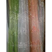 Тюль Сетка 00020 разноцветная фото