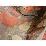 """Тюль """"Кружочки"""" - полуорганза Турция 2302 -1 фото"""