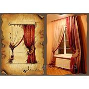 Эскиз с работой-Спальня фото
