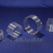 Спираль из прозрачного кварцевого стекла фото