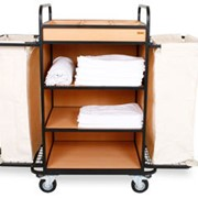 Тележки для гостиниц, тележки для горничных, аксессуары для гостиниц фото