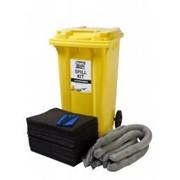 Универсальный аварийный набор 240л Black&White Maintenance Spill kit, абсорбент, набор для ликвидации разливов фото