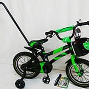 Детский велосипед SIGMA Hammer S500 14 зеленый фото