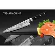 Нож кухонный европейский шеф Samura Tamahagane фото