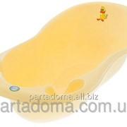 Ванна большая Tega, 102СМ, со сливом TG-061 LUX Balbinka желтые фото
