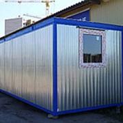 Блок-контейнер (БК-02). с тамбуром 6000х2400х2400 в Курске фото