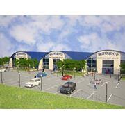 Строительство быстровозводимых логистических, выставочных и торговых центров, Строительство быстровозводимых спортивных и производственных комплексов фото