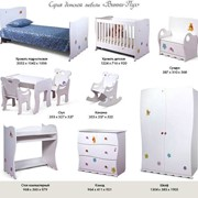 Набор мебели для детской комнаты Винни-Пух фото