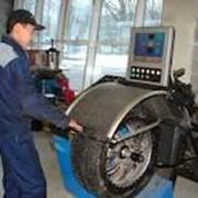 Балансировка колёс фото