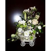 Оформление праздников, флористические сувениры, карета для Феи Желаний фото