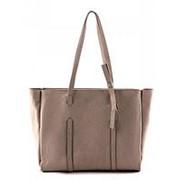 Бежевая женская сумка-шоппер Arcadia фото
