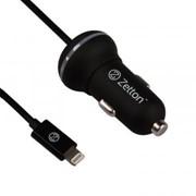 АЗУ с кабелем Apple 8 pin и выходом USB ток зарядки 2,1А Zetton (ZTCC2AA8) фото