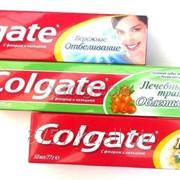 Зубные пасты colgate фото