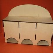 К-03036 Коробка для чайных пакетиков тройная. фото