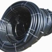 Труба полиэтиленовая Пэ-100 Водопроводная толщина стенки 16,6мм фото
