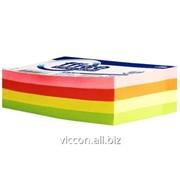 Бумага с липким слоем 125 x 75 mm. 320 листиков, neon, forpus FO42033 фото