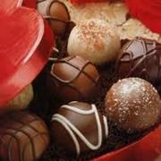 Конфеты шоколадные в коробках фото