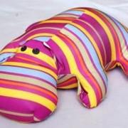 Антистрессовая игрушка Бегемот Принты фото