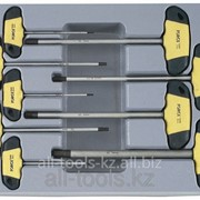 Набор торцевых ключей 6-гранных Т-образный 9 пр. Код:2097 фото