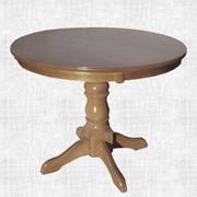 Стол Арт (100 см.) 80+30 см. фото