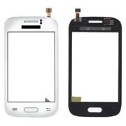 """Сенсорное стекло (тачскрин) 3.27"""", для Samsung GT-S6312 белый фото"""