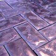 Формы для производства тротуарной плитки Булыжная мостовая, 300х150х40 фото