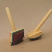 G10 – щетка деревянная трехрядная фото