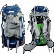 Оптимальный рюкзак для туристических походов, оснащен анатомической спиной и мягким набедренным поясом. фото
