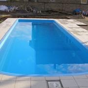 Чаша бассейна усиленная (с рёбрами жёсткости) 10,5 х 3,5 х 1,7. фото