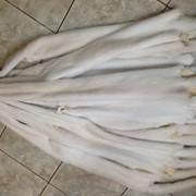 Мех норки белой. фото