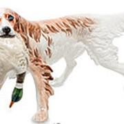 Скульптура Сеттер/Собака 45х23х18см. арт.AHURA-160 фото