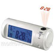 Часы с проектором будильник термометр Chaowei 8097, комнатный термометр фото