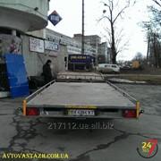 Вантажоперевезення на відкритій платформі фото